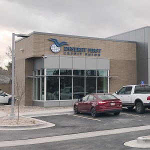 Taylorsville branch exterior