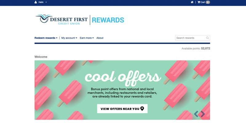 DFCU Rewards Card   DFCU   Deseret First Credit Union