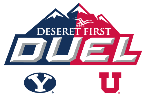 Deseret First Duel BYU vs UofU logo